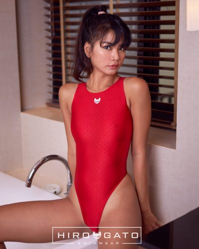Thong Swimsuit Red